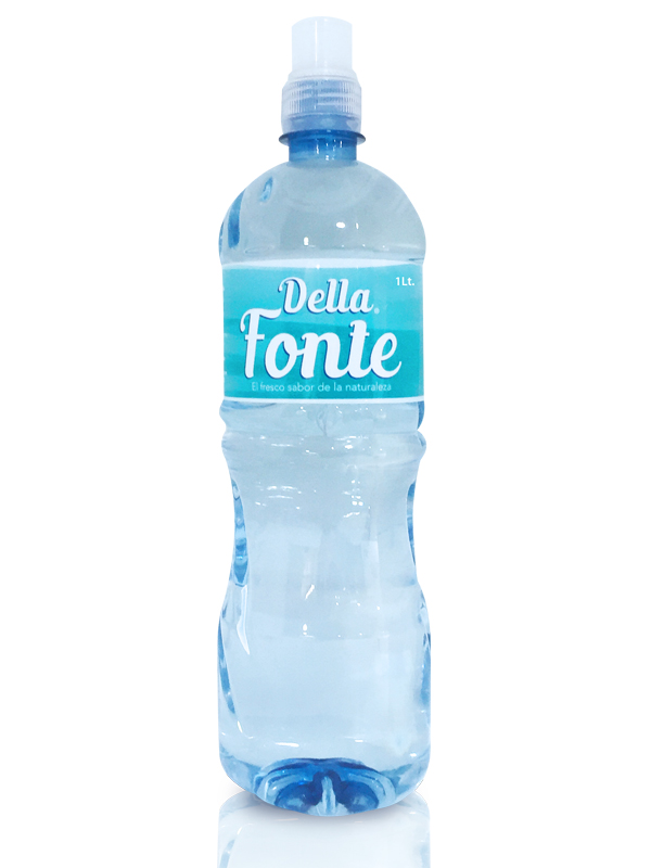 Agua en botella 1000 ml