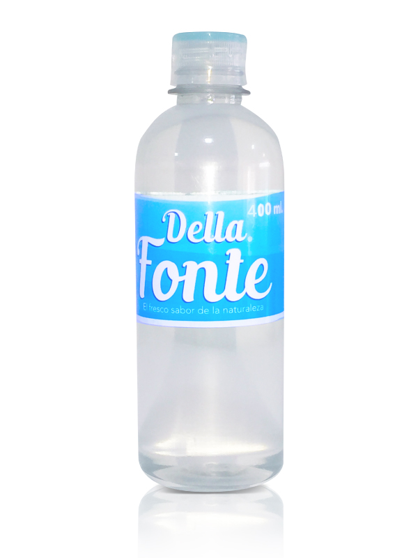 Agua en botella 400 ml
