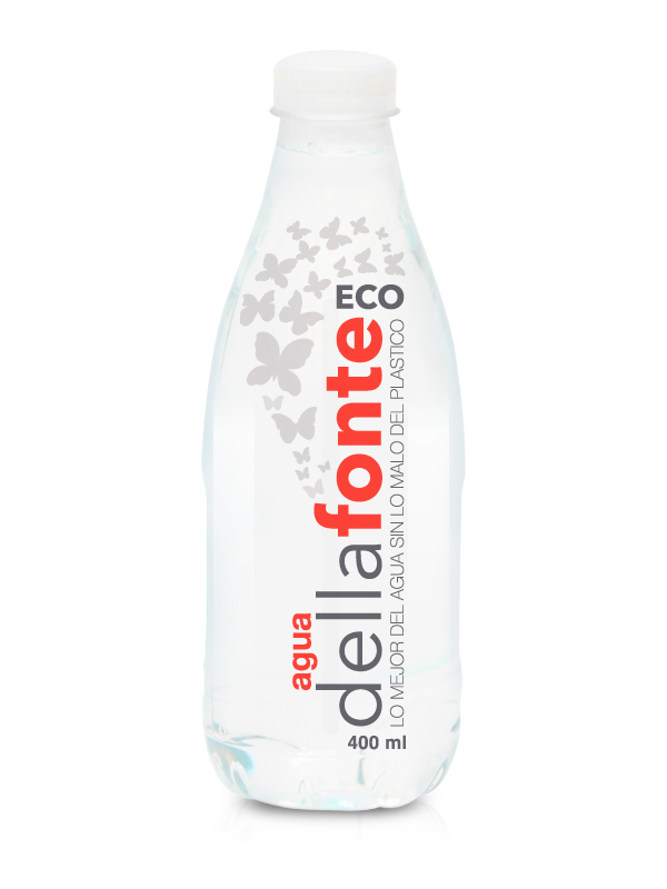 Agua en botella ECO 400 ml